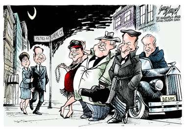 Editorial Cartoons by Gary Varvel - gv0113c - 13 January 2006