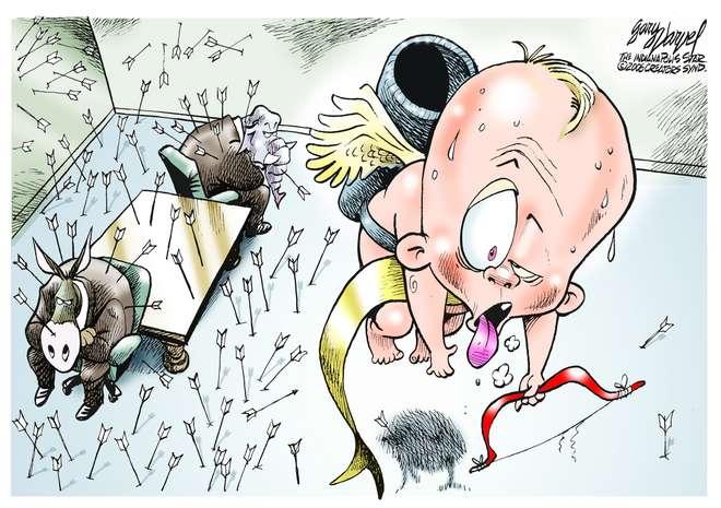 Editorial Cartoons by Gary Varvel - gv0210c - 10 February 2006