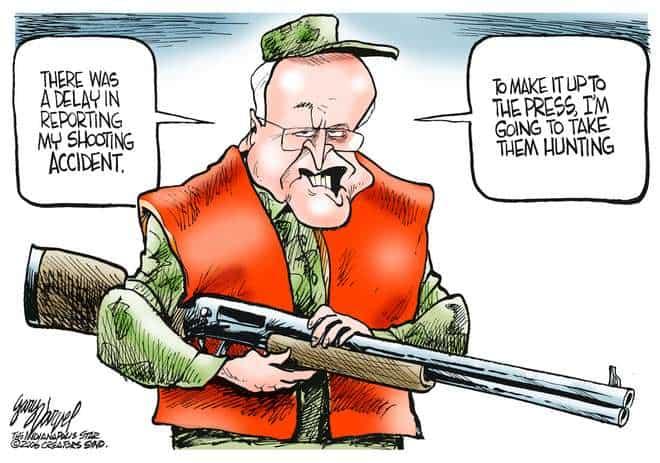 Editorial Cartoons by Gary Varvel - gv0214c - 14 February 2006