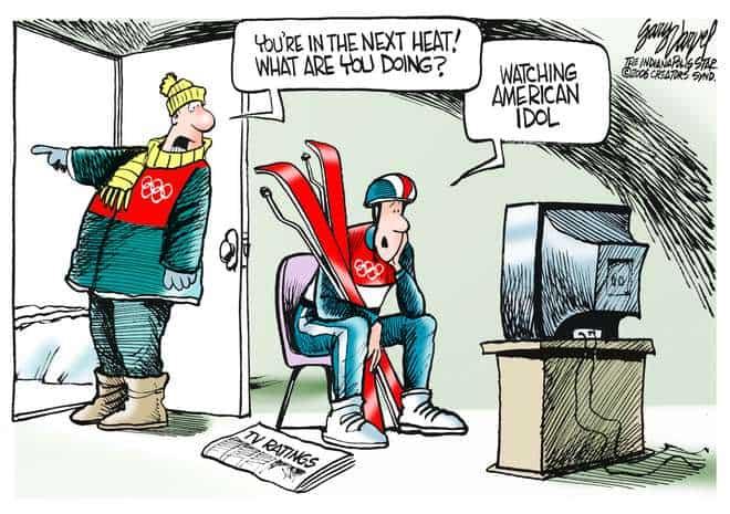 Editorial Cartoons by Gary Varvel - gv0220c - 20 February 2006