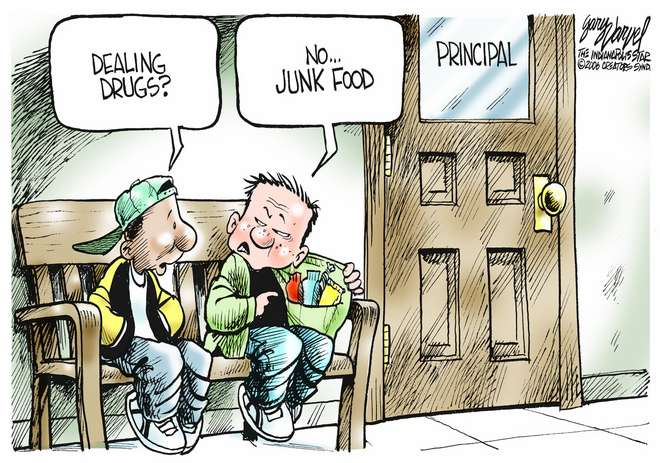 Editorial Cartoons by Gary Varvel - gv0224c - 24 February 2006