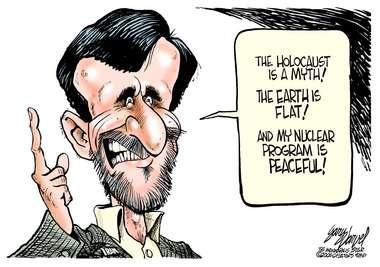 Ahmadinejad cartoon