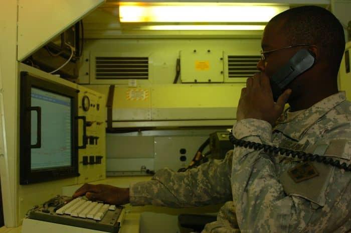 4ID Sensor Division monitors indirect fire attacks