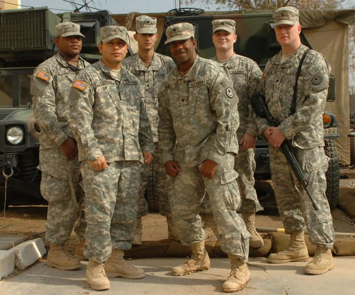 texas soldiers