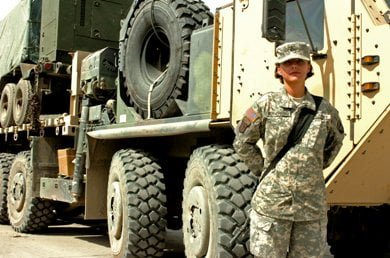 Driver with the 426th Brigade Support Battalion