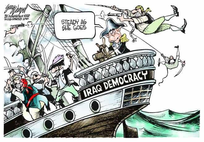 Editorial Cartoons by Gary Varvel - gv0301c - 01 March 2006