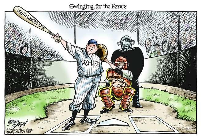 Editorial Cartoons by Gary Varvel - gv0308c - 08 March 2006