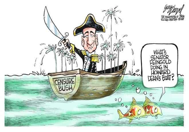 Editorial Cartoons by Gary Varvel - gv0315c - 15 March 2006