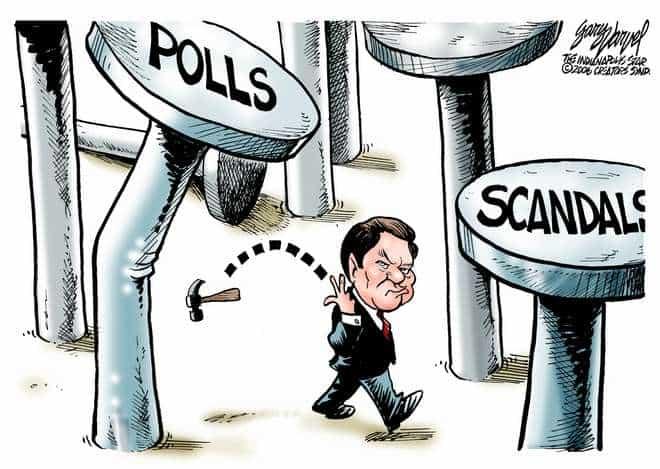 Editorial Cartoons by Gary Varvel - gv0406c - 06 April 2006