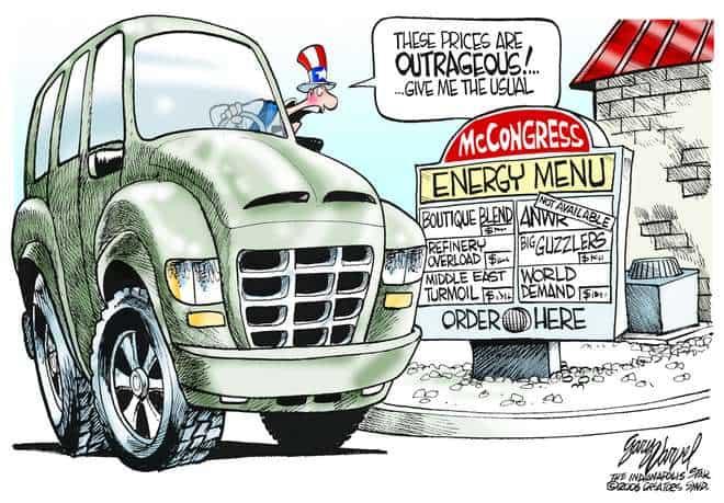 Editorial Cartoons by Gary Varvel - gv0426c - 26 April 2006