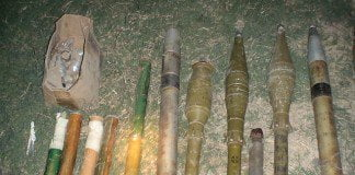 Ramadi weapons cache