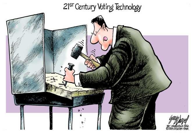 Editorial Cartoons by Gary Varvel - gv0508c - 08 May 2006