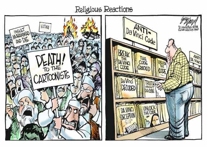 Editorial Cartoons by Gary Varvel - gv0519c - 19 May 2006