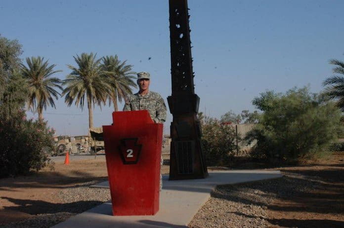 Lt. Col. Peter Lawson in Memorial Day Service to honor Fallen Warriors