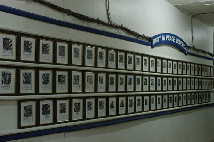 Wall of Fallen Warriors