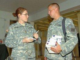 Maj. Gabrielle Bryen, mental health officer