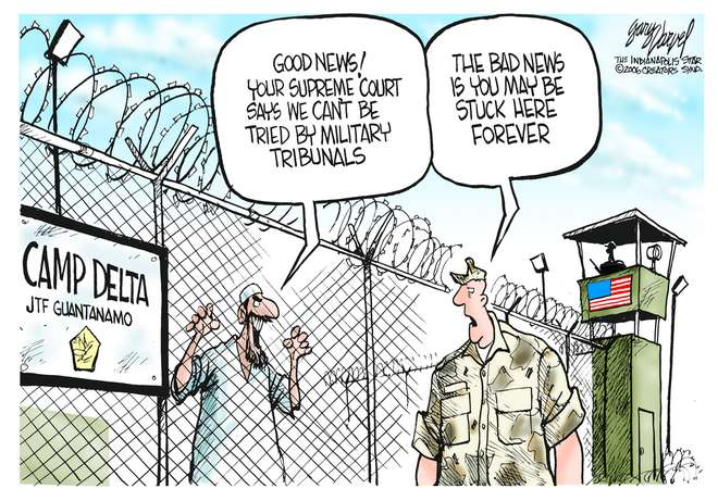 Editorial Cartoons by Gary Varvel - gv0630c - 30 June 2006