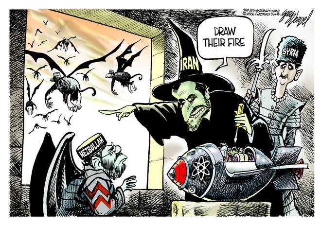 Editorial Cartoons by Gary Varvel - gv0720cd - 20 July 2006