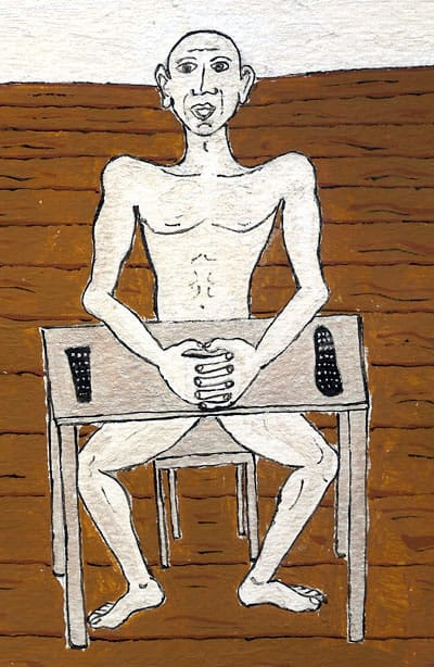 Man in chair Design by Federico Restrepo