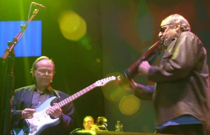 Walter Becker and Donald Fagan of Steely Dan bring out the funk. Photo: Richard L. Barrett III.