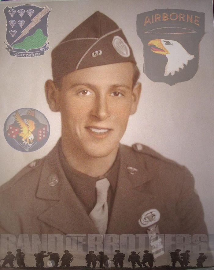 Bill Wingett, a WWII veteran of Easy Company