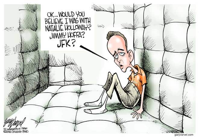 Editorial Cartoons by Gary Varvel - gv0830cd - 30 August 2006