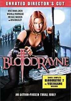 Bloodrayne DVD Cover