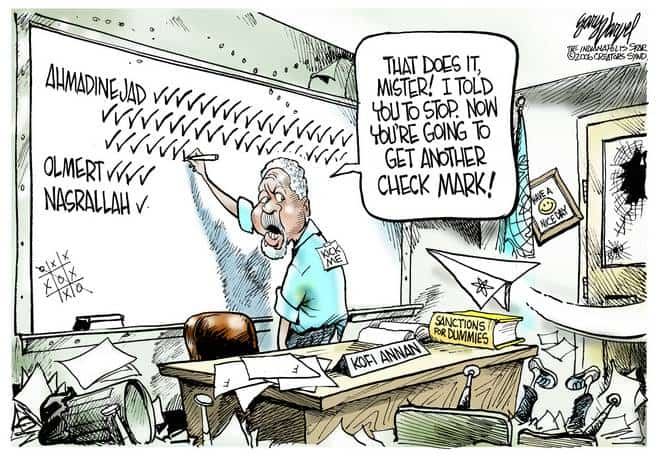 Editorial Cartoons by Gary Varvel - gv0901cd - 01 September 2006