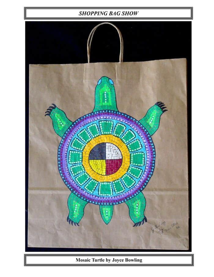 Mosaic Turtle by Joyce Bowling