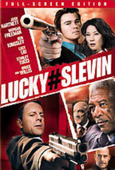 Lucky Slevin DVD Cover