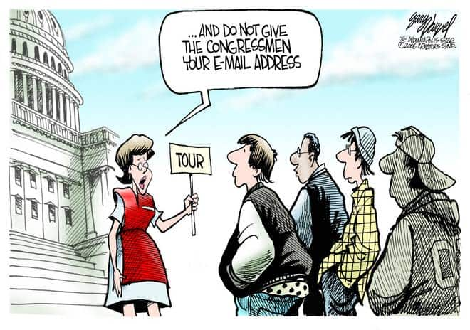 Editorial Cartoons by Gary Varvel - gv1004cd - 04 October 2006