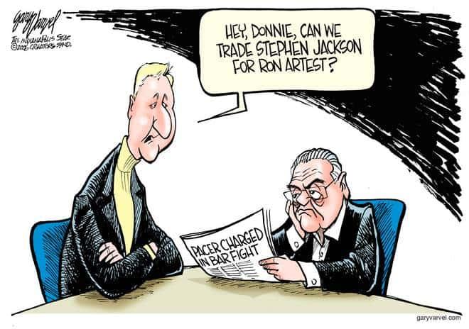 Editorial Cartoons by Gary Varvel - gv1012cd - 12 October 2006