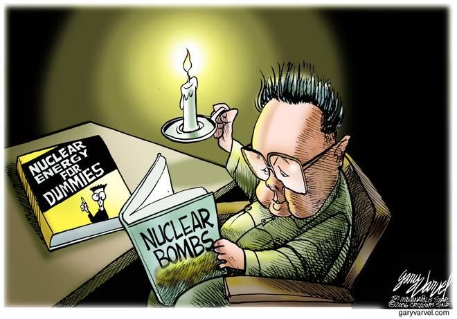 Editorial Cartoons by Gary Varvel - gv1023bcd - 23 October 2006