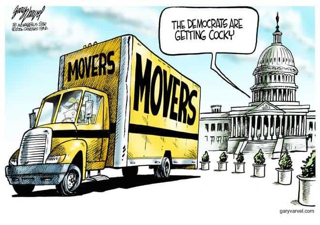 Editorial Cartoons by Gary Varvel - gv1026cd - 26 October 2006