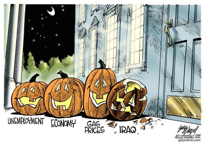 Editorial Cartoons by Gary Varvel - gv1027cd - 27 October 2006