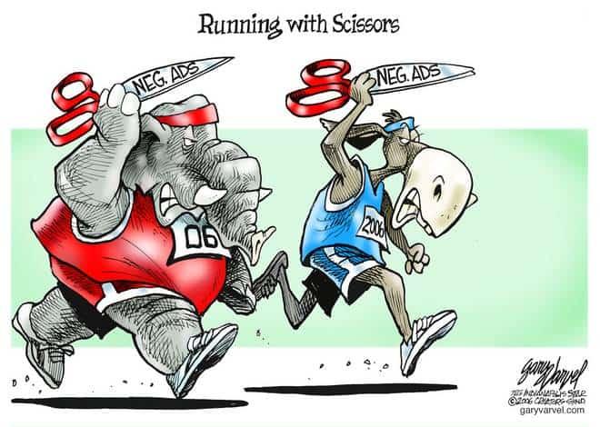 Editorial Cartoons by Gary Varvel - gv1030acd - 30 October 2006