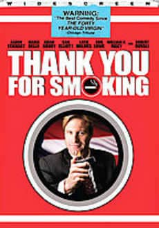 Thanks For Smoking DVD Cover