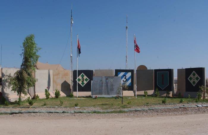 FOB Warhorse Memorial long shot, photo: SSG Sheryl L. Lawry