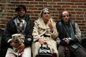 Udi Razzin the son, Hobitter, Zishan Ugurlu the street whore, Bronsatsky, Victor Attar the old beggar, Hoimar