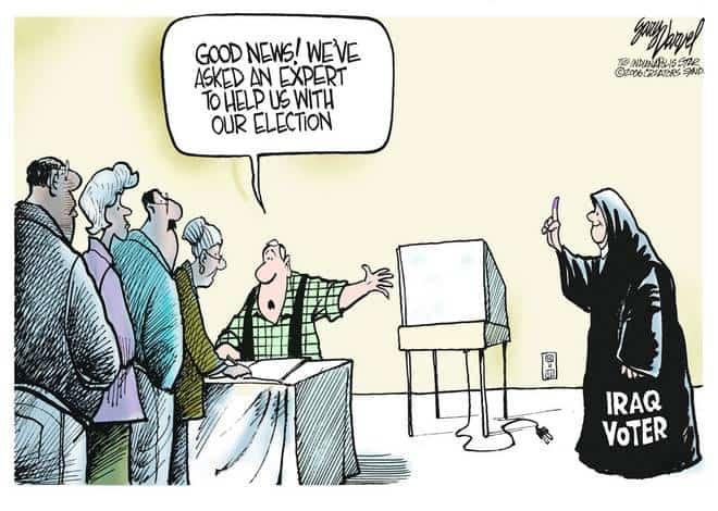 Editorial Cartoons by Gary Varvel - gv1108cd - 08 November 2006