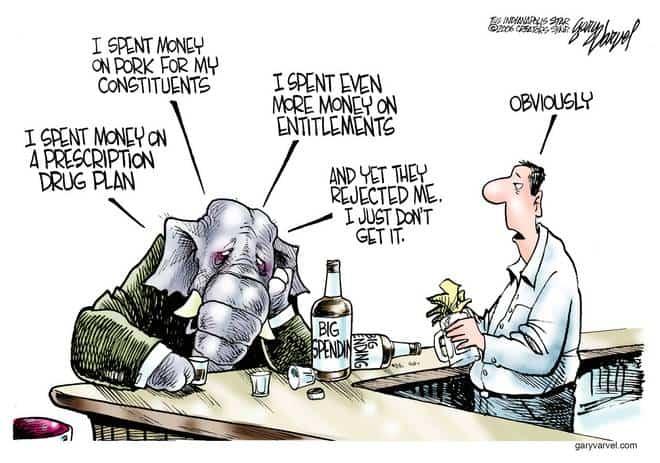 Editorial Cartoons by Gary Varvel - gv1113cd - 13 November 2006