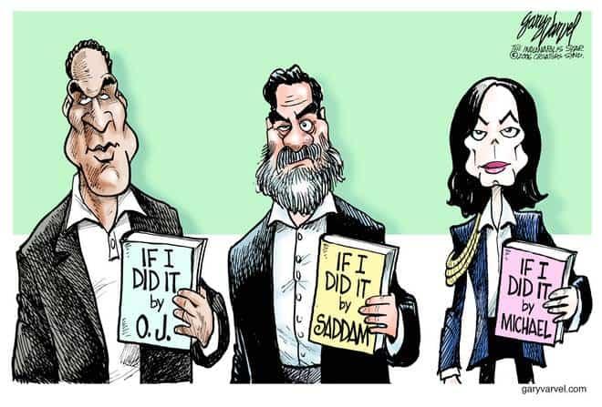Editorial Cartoons by Gary Varvel - gv1116cd - 16 November 2006
