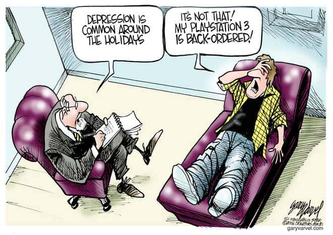 Editorial Cartoons by Gary Varvel - gv1121cd - 21 November 2006