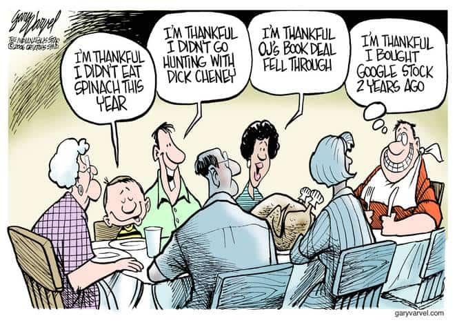 Editorial Cartoons by Gary Varvel - gv1122cd - 22 November 2006