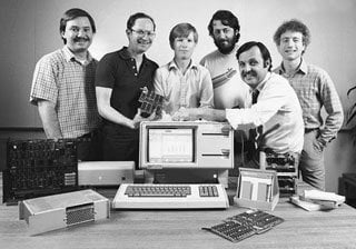 John Couch with Apple Lisa Project Team