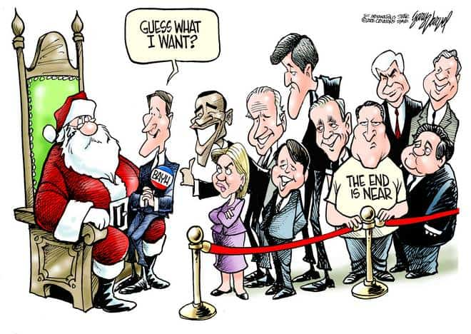 Editorial Cartoons by Gary Varvel - gv1205cd - 05 December 2006