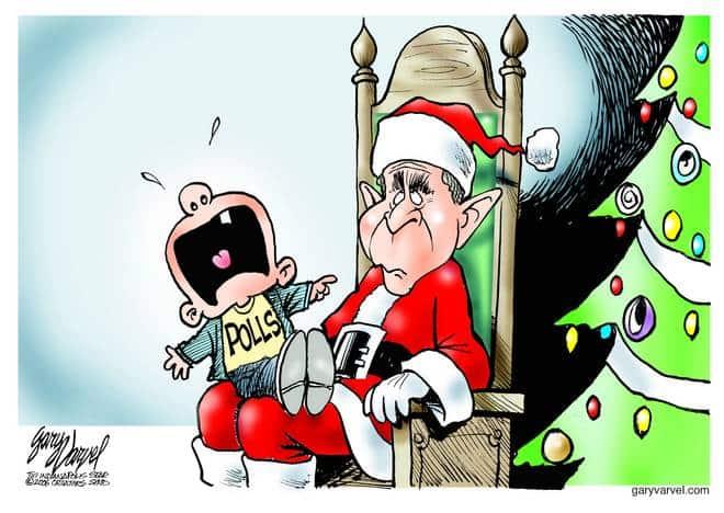 Editorial Cartoons by Gary Varvel - gv1215cd - 15 December 2006