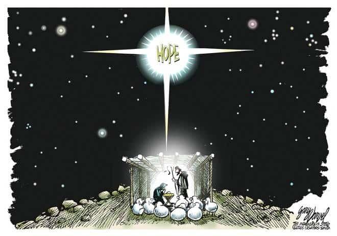 Editorial Cartoons by Gary Varvel - gv1222ccd - 22 December 2006