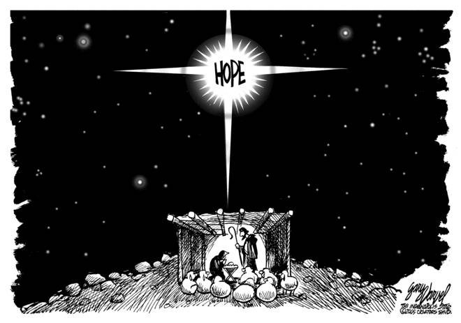 Editorial Cartoons by Gary Varvel - gv1222cd - 22 December 2006