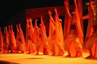 Ensemble of Antigone by Sophocles